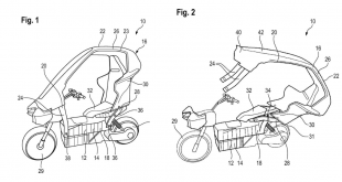 BMW Electric Motorcycle Patent