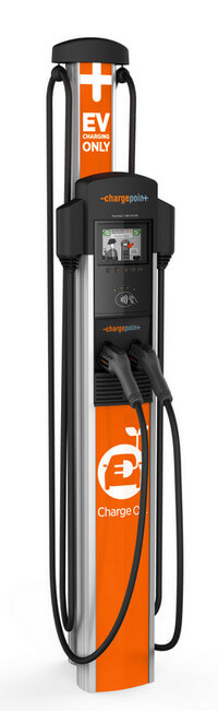 ChargePoint CT4021 EV charging station