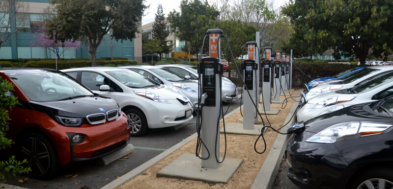 ChargePoint CT4000 EV charging station