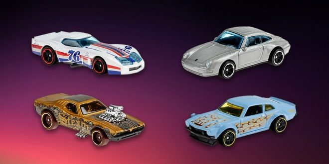 Hot Wheels toy cars