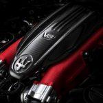 Maserati Trofeo engine