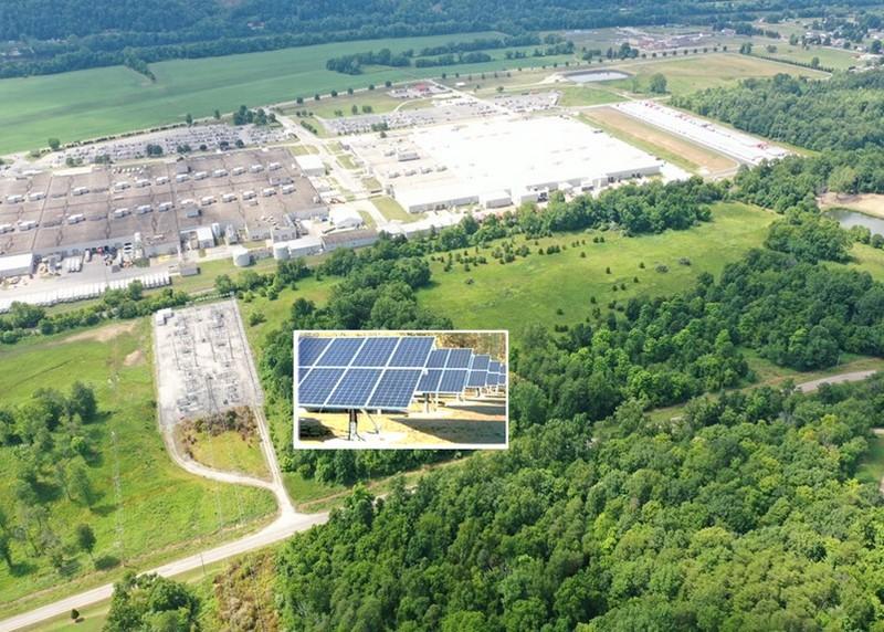 Toyota installing solar power panels