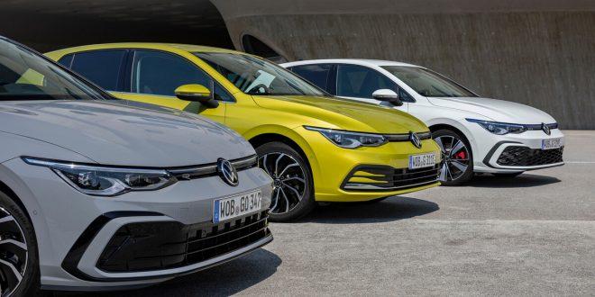 Volkswagen Golf eHybrid and Golf GTE