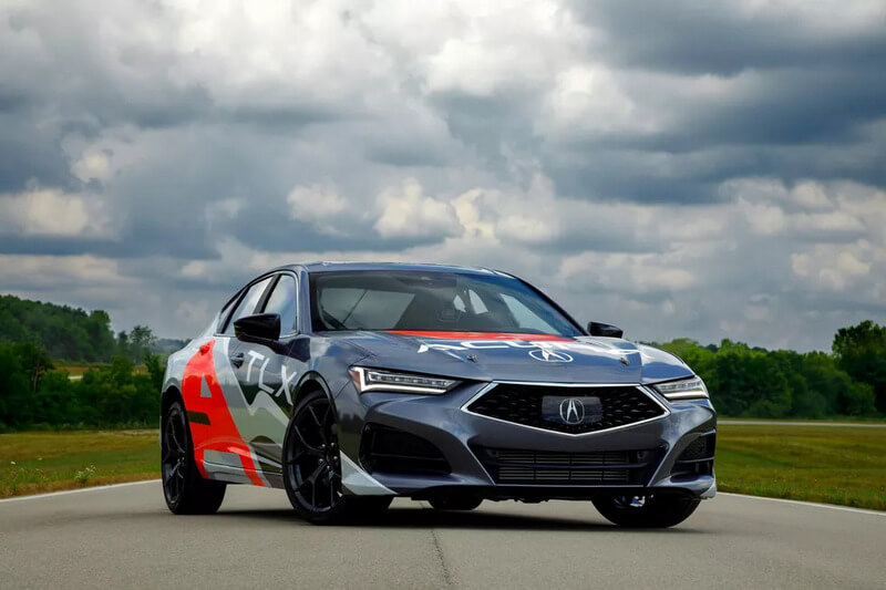 Acura TLX to compete at Pikes Peak Hill Climb