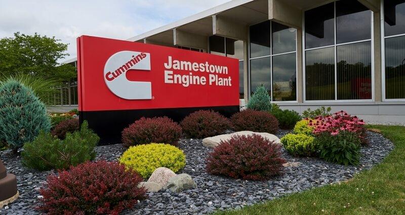 Cummins Jamestown engine plant
