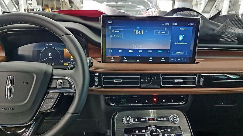 2021 Lincoln Nautilus Interior Spy Shot