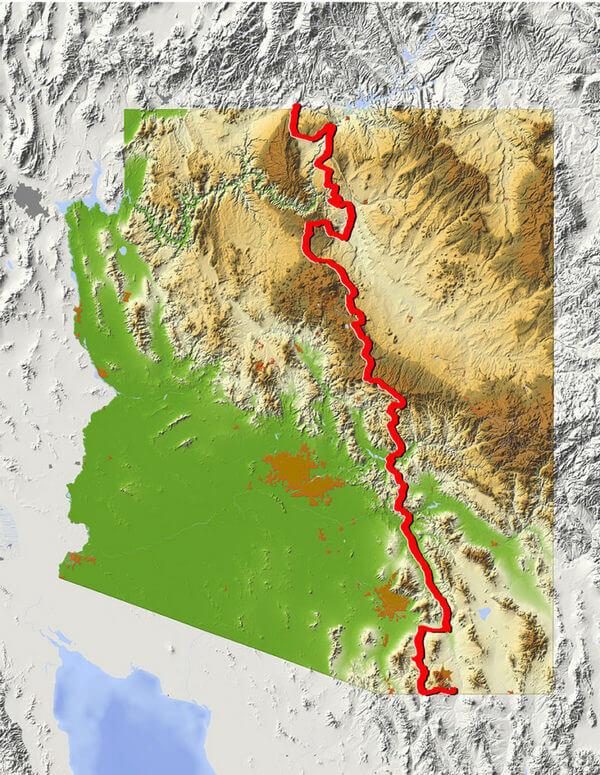 Arizona Backcountry Discovery Route, Arizona