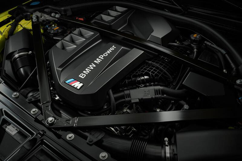 BMW M4 Engine