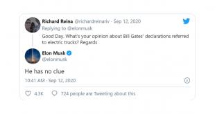 Elon Musk Attacks Bill Gates