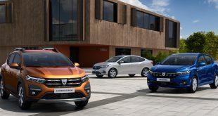 New Dacia SANDERO, SANDERO STEPWAY and LOGAN