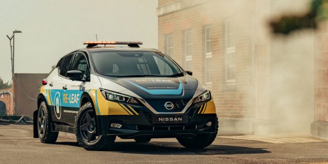 Nissan Unveils RE-LEAF Emergency Response Vehicle