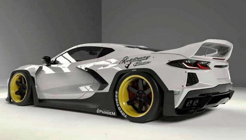 Pandem's Corvette C8 Widebody Kit