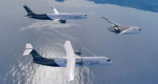 Airbus ZEROe concept aircraft - formation flight