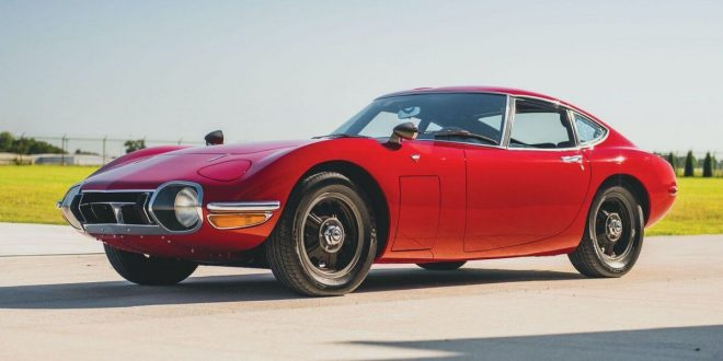 This Mint 1967 Toyota 2000 GT Sells for $912K at an Auction