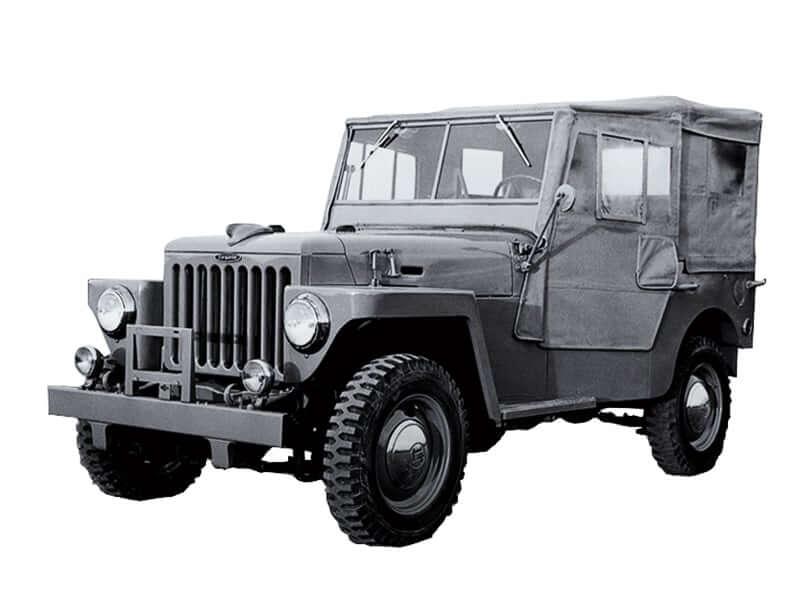 1st-gen 1951 Toyota Land Cruiser BJ