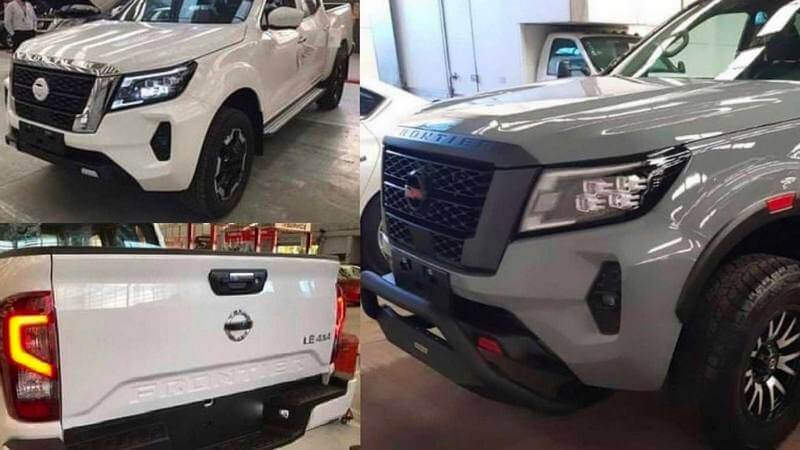 2021 Nissan Frontier leaked images