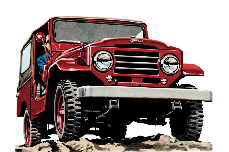 2nd-gen 1955 Toyota Land Cruiser 20 Series