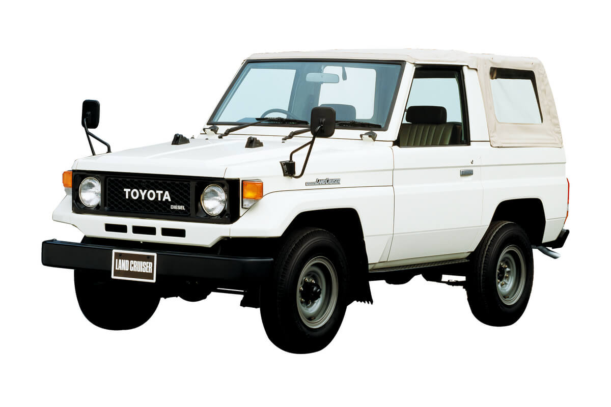 4th-gen 1984 Toyota Land Cruiser 70 series