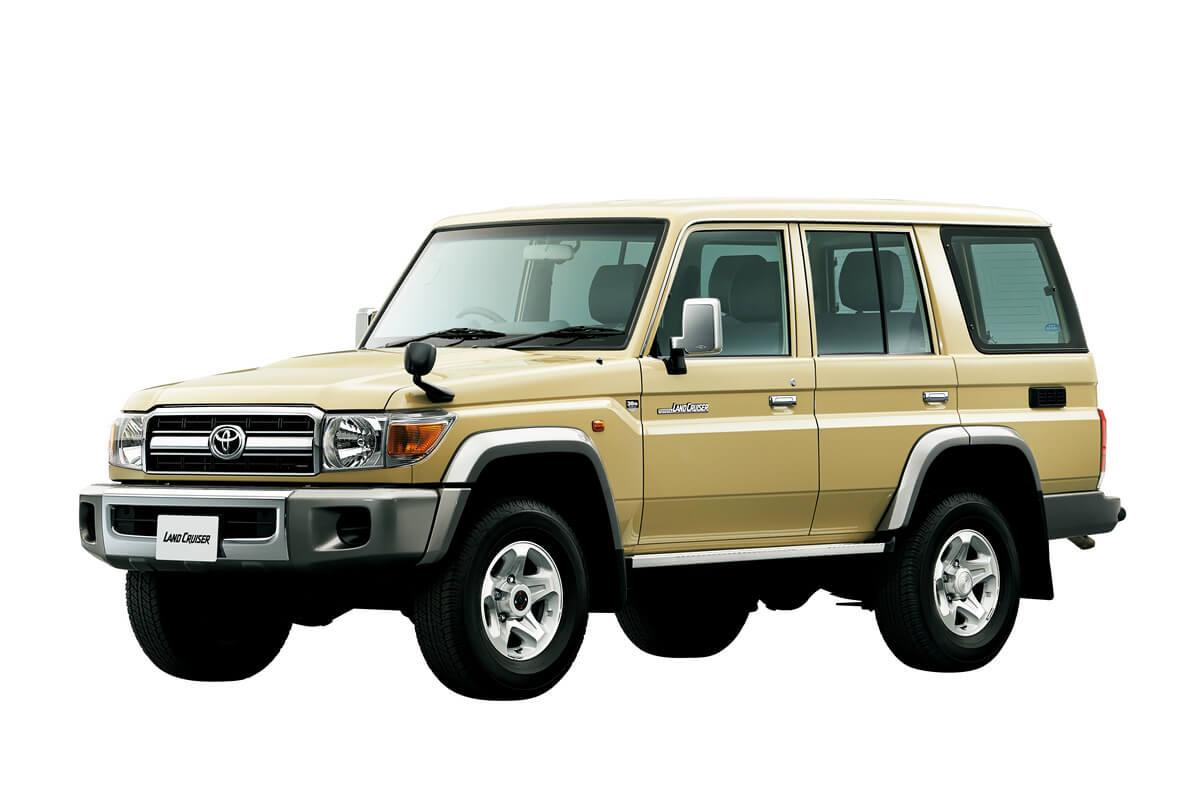 4th-gen 2014 Toyota Land Cruiser 70 series