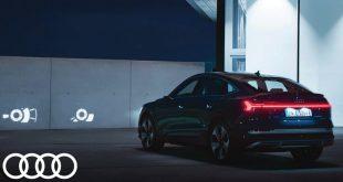 Audi Digital Matrix LED headlights