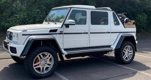 LeBron James Buys Mercedes-Maybach G650 Landaulet