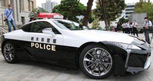 Lexus LC 500 Japan Police