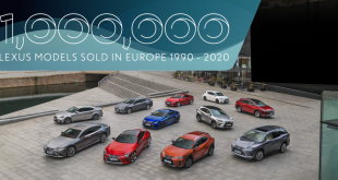 Lexus Records 1 Million Sales in Europe