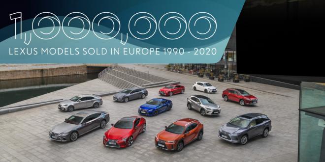 Lexus Records 1 Million Sales in Europe