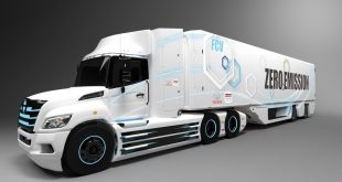Toyota and Hino Class 8 Hydrogen Fuel Cell Electric Truck