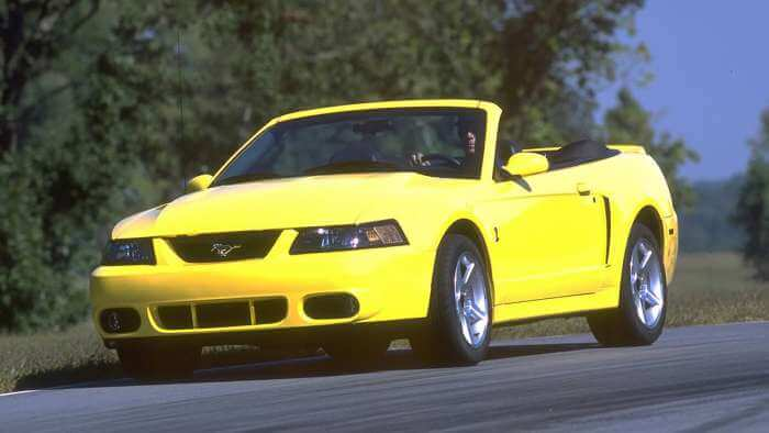 2003 Ford Mustang SVT Cobra Convertible