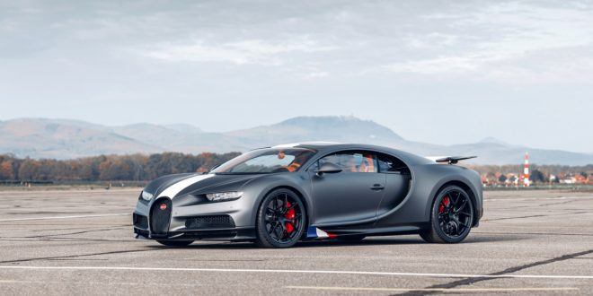 Bugatti Chiron Sport 'Les Legendes Du Ciel' Honors Past Racing Drivers