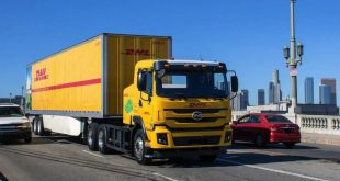 DHL BYD battery electric truck