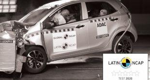 Kia Picanto Latin NCAP crash test