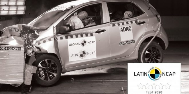 Kia Picanto Latin NCAP crash test