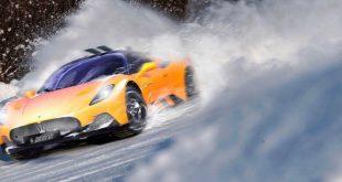 Maserati MC20 Snowmobile