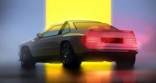 Maserati Project Rekall concept