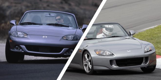 Mazda MX-5 Miata vs. Honda S2000