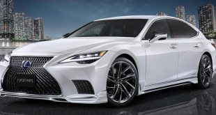 Modellista Sporty 2021 Lexus LS Body Kit