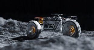 NASA Electric Lunar Motorcycle