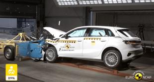 2020 Audi A3 Euro NCAP crash test