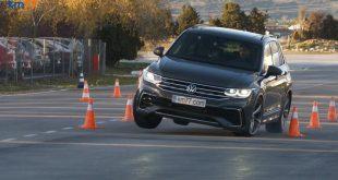 2022 Volkswagen Tiguan Moose Test