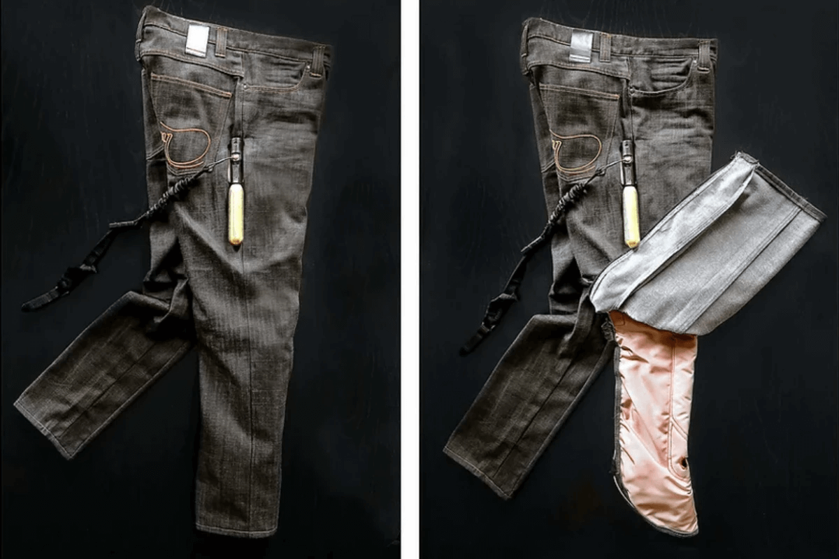 MO'CYCLE Develops Airbag Jeans