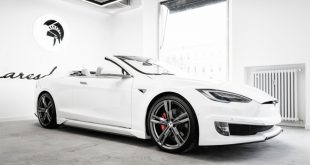 ARES Tesla Model S Convertible