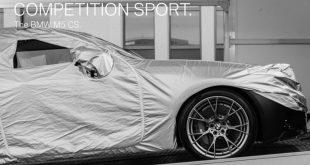 BMW Teases M5 CS