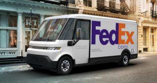 BrightDrop EV600 FedEx Express