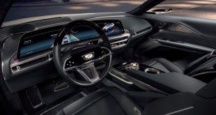 Cadillac LYRIQ 33-inches display