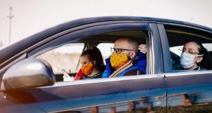 Driving windows down prevents covid-19 spread