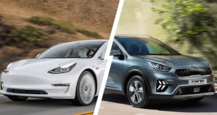 JD Power - Tesla Model S & Kia Niro