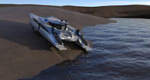 Lazzarini Design Studio Pagurus Amphibious Catamaran