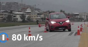 Renault Zoe Moose test